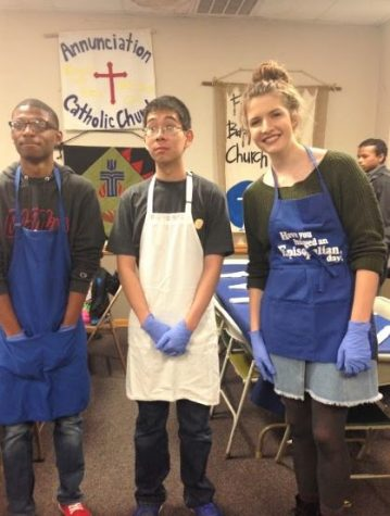 MSMS Students Give Back Through Service During Season of Giving