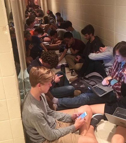 Severe Weather Keeps Students Moving
