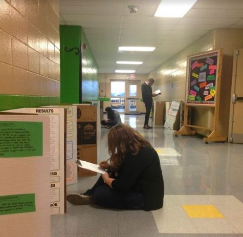 MSMS Students Become Science Fair Judges for a Day