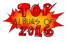 Top 10 Albums of 2016