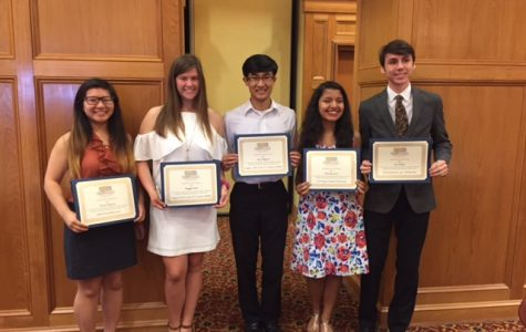 MSMS Students Awarded at Columbus Chamber of Commerce