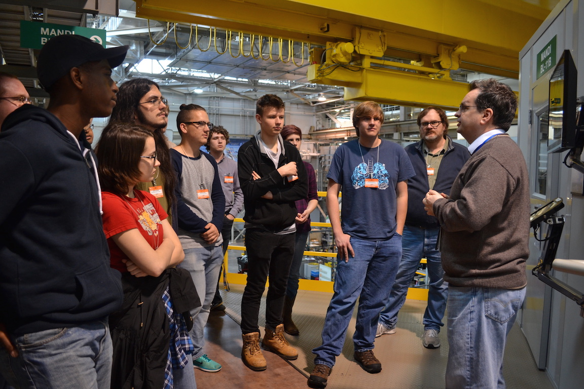 The Modern Physics class learns about what goes on behind the scenes at the Oak Ridge lab.