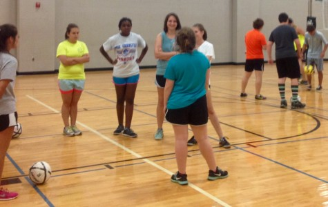 Soccer Season Warms Up With Indoor Night Practices