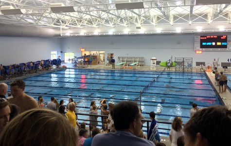 The MSMS swim team attends its first meet at the Tupelo Aquatic Center this past Tuesday.