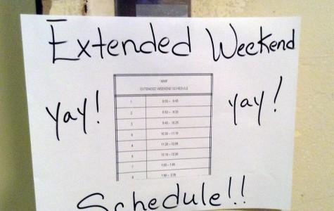 Labor Day Weekend and Extra Sleep