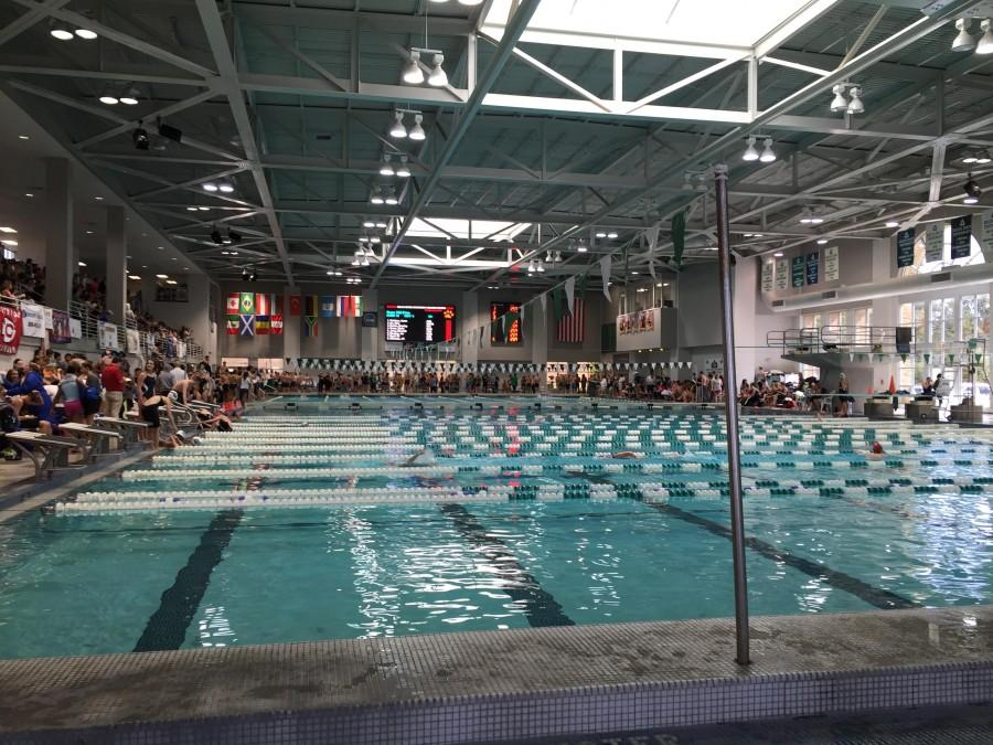 Blue Waves Take North State Swim Meet – The Vision
