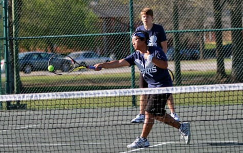 MSMS Tennis Team Continues Streak, Ranked First in 3A Division