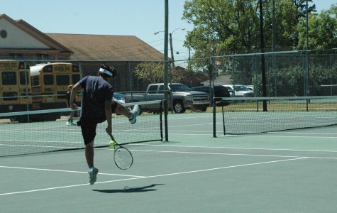 MSMS Tennis in Full Swing as Playoffs Approach