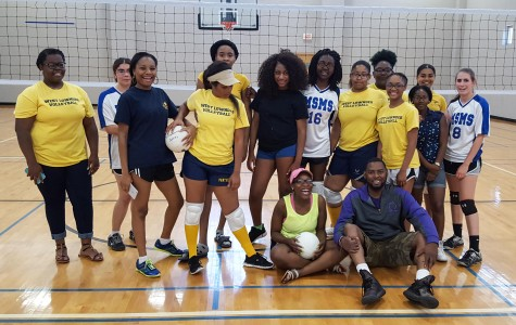 MSMS Volleyball Ends Its First Season