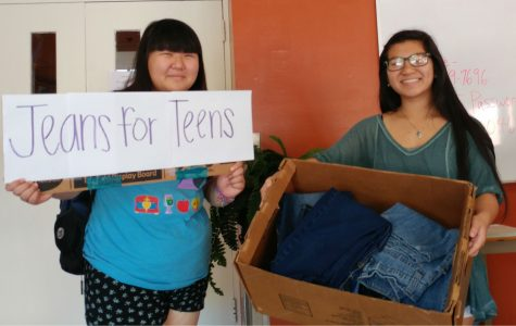 MSMS Distributes Denim with Teens for Jeans
