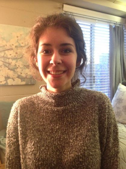 Emily Shy received the Gold Key Scholastic Award for her personal essay,