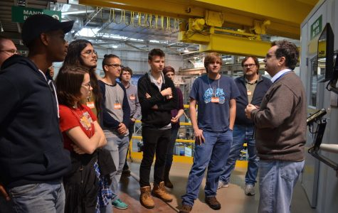 Modern Physics Visits Nuclear Reactor