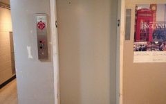 Elevator Causes Argument in Goen Hall