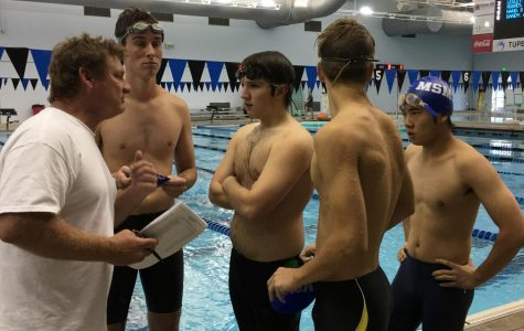 The Blue Waves Dive into the Second Meet of the Season