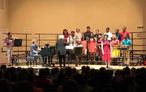 MSMS Language Students Celebrate With Christmas Concert