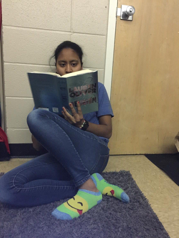 Likhitha Polepalli reads her book
