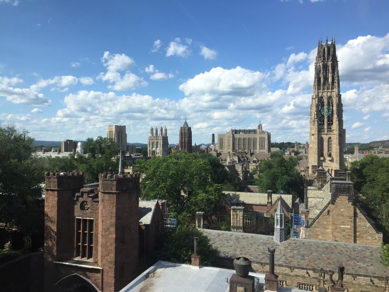 Peace spent four years studying Molecular Biophysics at Yale University.