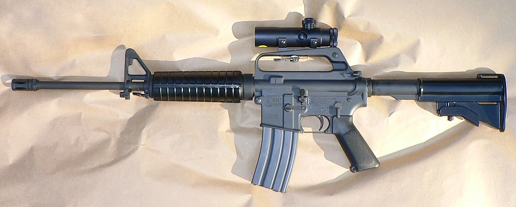 An AR-15, like the one pictured here, was used in last week's Florida high school shooting.