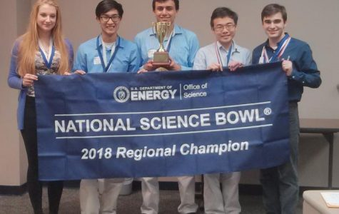 MSMS Science Bowl Team Advances to National Competition in D.C.