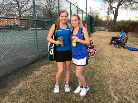 Blue Waves Swing Into Tennis Season against Winona