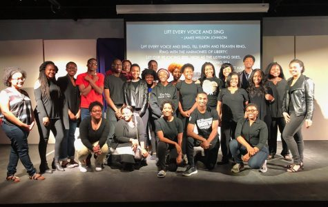 The Black Student Alliance Black History Program