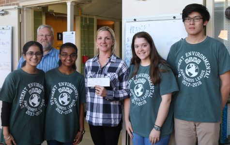 Student Environmental Awareness League Receives Grant