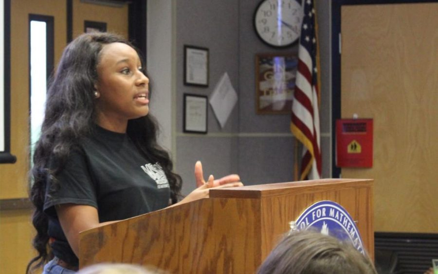 Students Learn About Domestic Violence