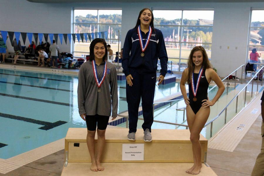 Sara Sheward Places 2nd in the 100M Butterfly