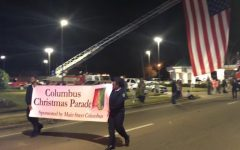 MSMS Students Attend Columbus Annual Christmas Parade