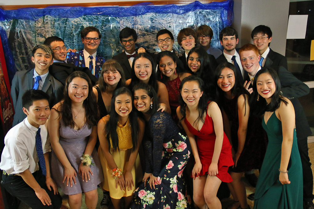 MSMS students attended Winter Formal on Saturday, Dec. 1.