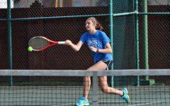 Tennis Captain Erin Davis