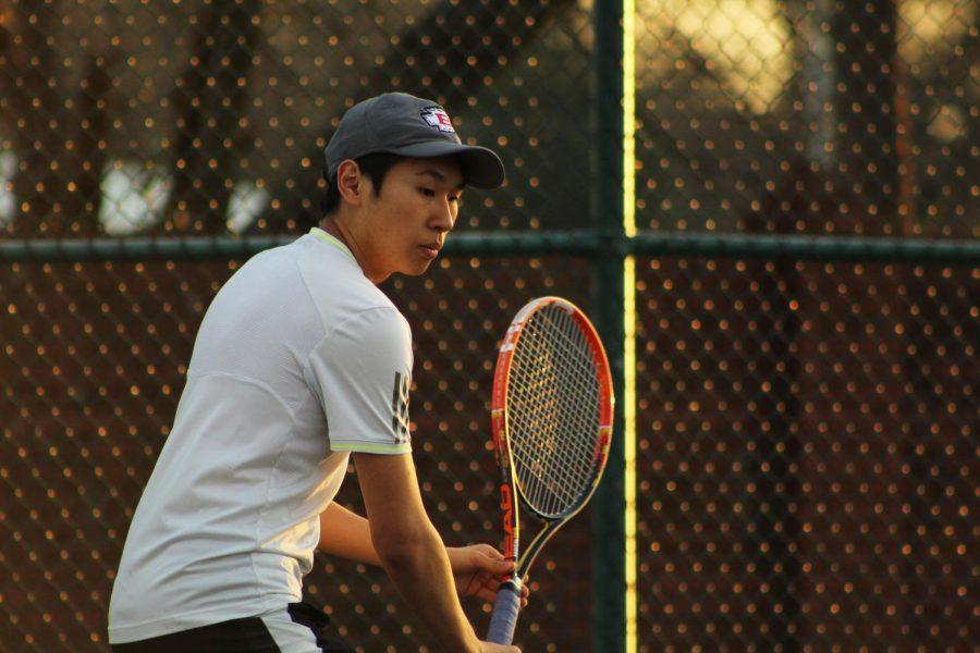 MSMS Tennis Team Serves it Up in Practice