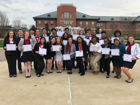 MSMS Students Travel to FBLA Competition