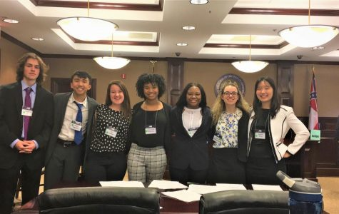 All-Senior Mock Trial Team Qualifies for State