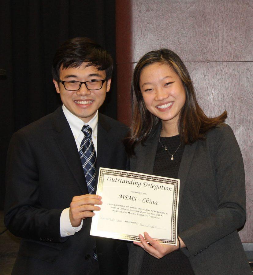Hamilton Wan and Lori Feng