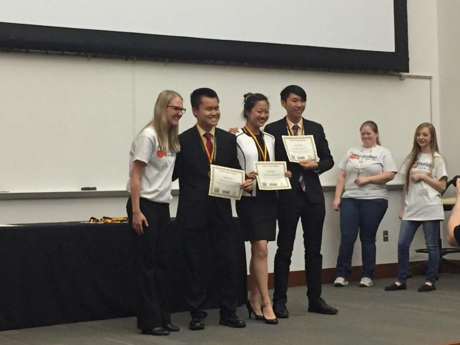 Devin Chen, Lori Feng, and Esmond Tsang