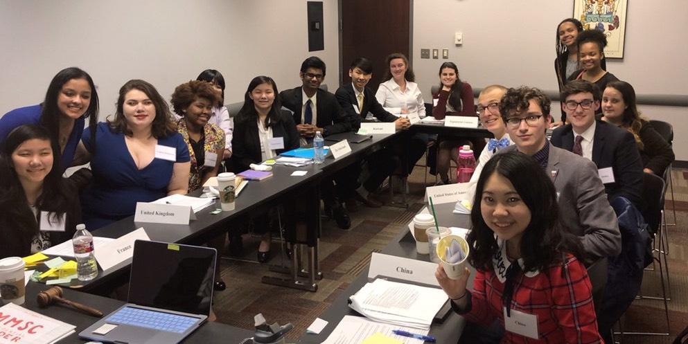 Students+prepare+to+debate+new+bills.