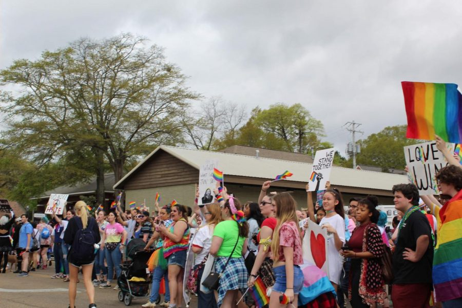 MSMS Represents at Starkville Pride Parade