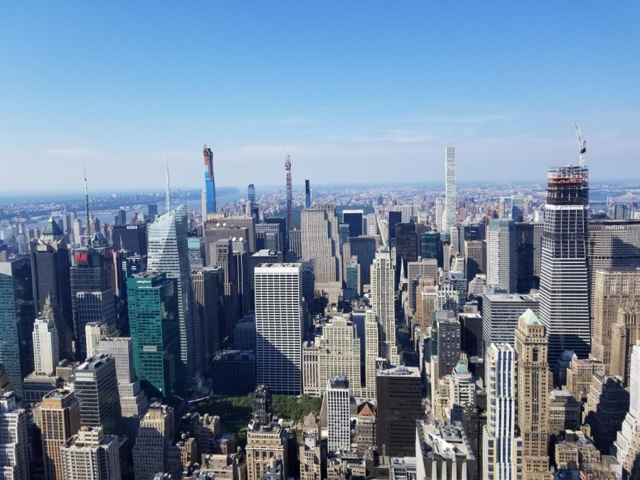 Shanahan+captured+the+New+York+City+skyline+from+above.