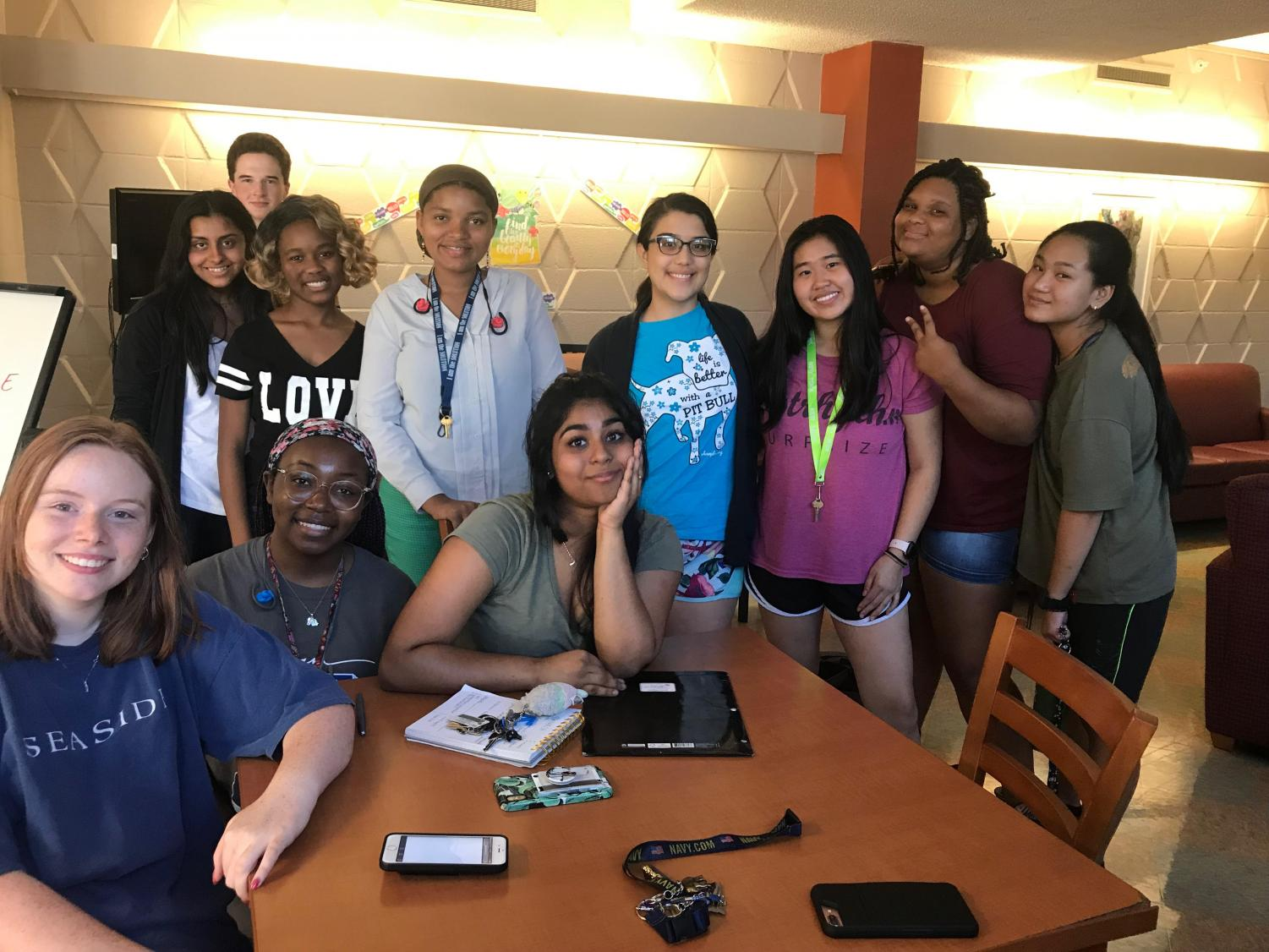 Revived by senior Bryonie Mandal, the Naach Club held their first meeting in Goen lobby.