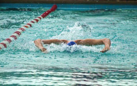 Samantha Broussard competed in the butterfly and backstroke and placed ninth in backstroke.