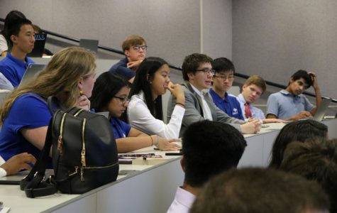 Many senators discussed the logistics of a proposed bill.