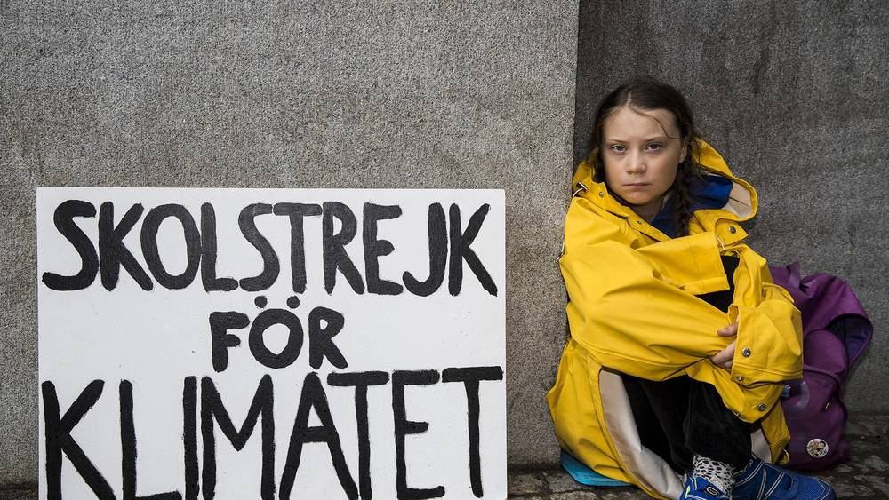 Greta Thunberg is leading the world's youth in a school strike for climate change.