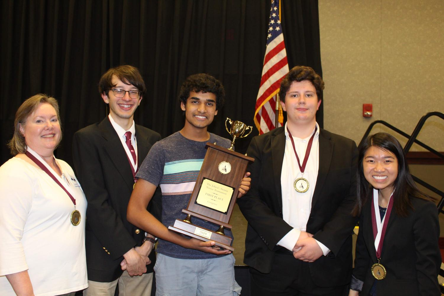 Several MSMS students took home awards, and MSMS won Best Overall.