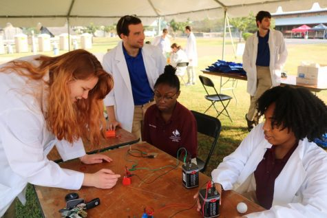 Students head to Central Mississippi to promote STEM