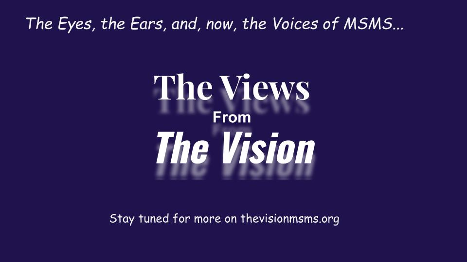 The Vision is now expanding to other mediums of production. Check out our new podcast