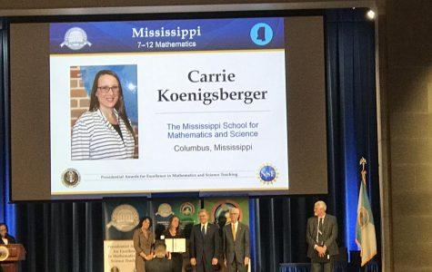 Koenigsberger receives presidential award