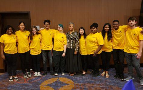 Students volunteer at Purple Heart Gala honoring veterans