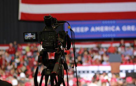 Photo essay: We got booed at a Trump rally… again