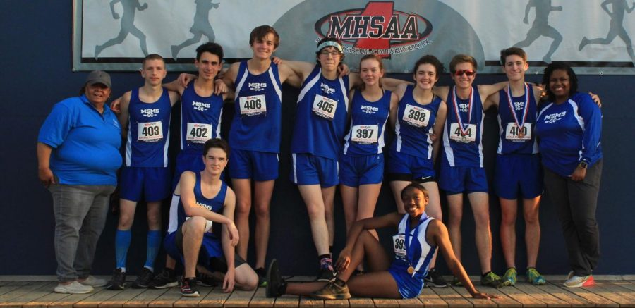 The Blue Waves made MSMS history by placing at the State Championships.